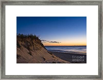 Nauset Beach Sunrise Framed Print by John Greim