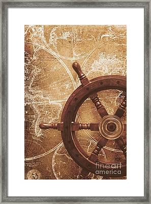 Nautical Exploration  Framed Print by Jorgo Photography - Wall Art Gallery