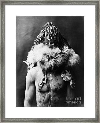 Navajo Mask, C1905 Framed Print by Granger