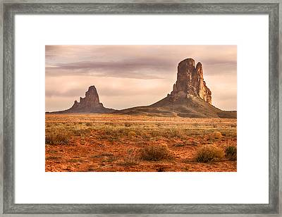 Navajo Nation Kayenta Monuments Framed Print by James BO  Insogna