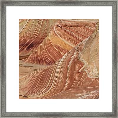 Navajo Sandstone Framed Print by Jerry Fornarotto