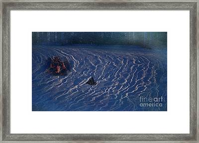 Navigating The Northwood Seas Framed Print by The Stone Age