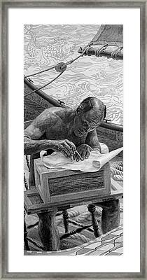 Navigator Framed Print by Frank Mulvey