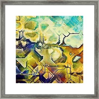 Ncl 01 Framed Print by Sampad Art