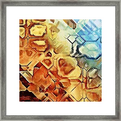 Ncl 02 Framed Print by Sampad Art