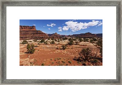 Near Goose Neck Framed Print by Chad Dutson