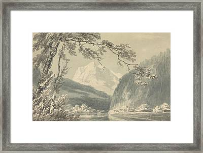 Near Grindelwald Framed Print by Joseph Mallord William Turner