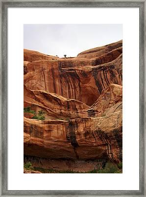Near Moab 1 Framed Print by Marty Koch