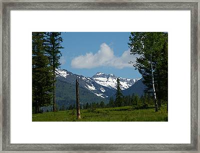 Near Sparwood British Columbia  Framed Print by Jeff  Swan
