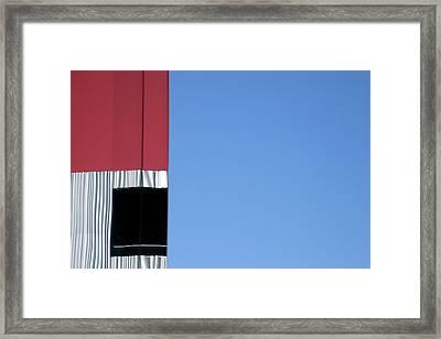 Near Squares Framed Print by Ross Odom