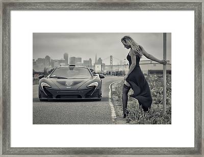 Need A Lift? Framed Print by ItzKirb Photography