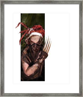Neobedouin - Beast Dancer Framed Print by Mandem