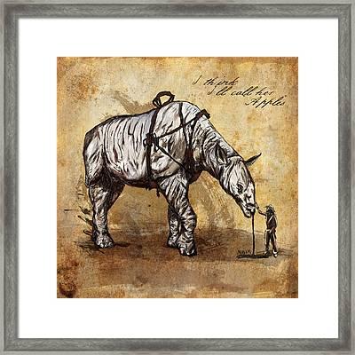 Neobedouin - Cowboy Framed Print by Mandem