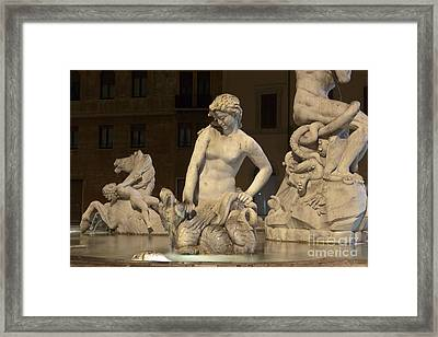 Nereid Framed Print by Fabrizio Ruggeri