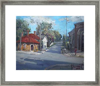 Norval Ontario Framed Print by Ylli Haruni