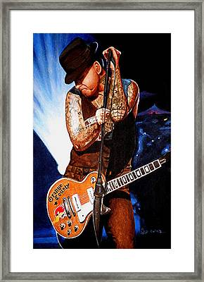 Ness At His Best Framed Print by Al  Molina