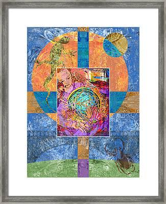 Nest Framed Print by Mary Ogle