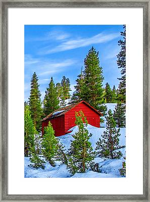 Nestled In Framed Print by Az Jackson