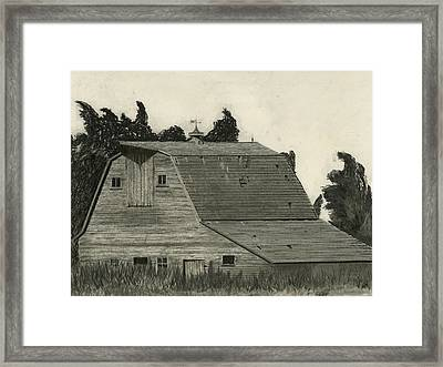 Nestled Memories Framed Print by Bryan Baumeister