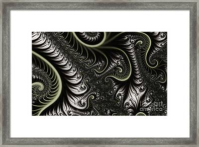 Neural Network Framed Print by Clayton Bruster