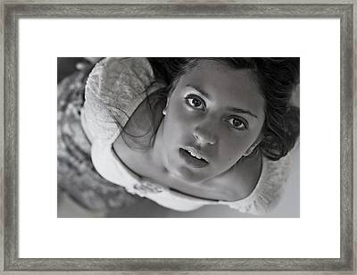 Never Before Framed Print by Thorne Owenly