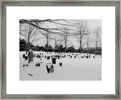 Never Forget Framed Print by Wayne King