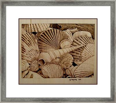 Never Lonely At The Bottom Framed Print by Jo Schwartz
