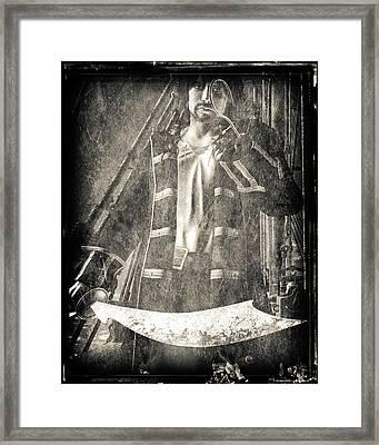 Never Neverland Captain Hook Framed Print by Bob Orsillo