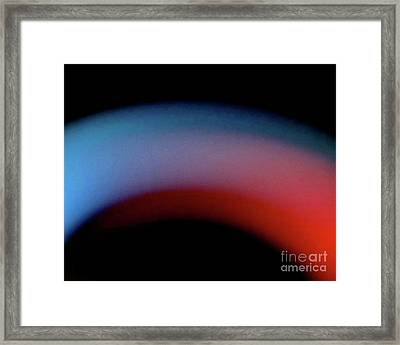 Never The Twain Framed Print by CML Brown