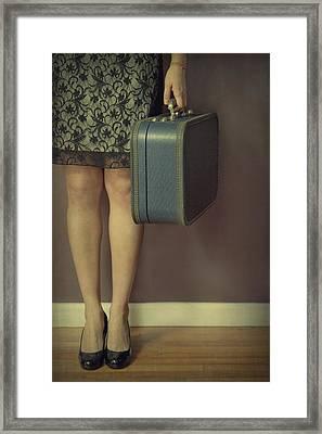 Never To Look Back Framed Print by Evelina Kremsdorf