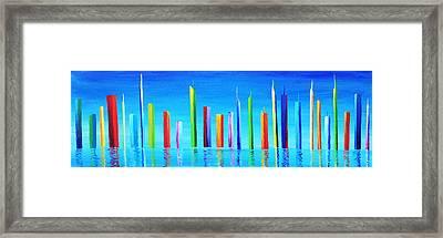 New Atlantis Framed Print by Maxwell Hanson