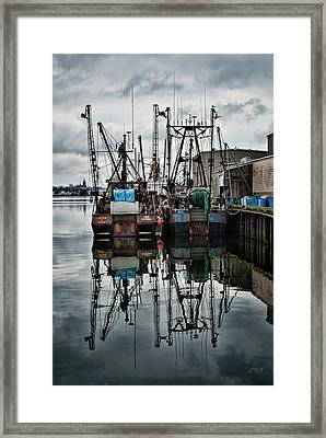 New Bedford Waterfront No. 1 - Color Framed Print by David Gordon