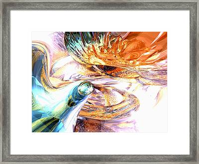 New Beginnings Abstract  Framed Print by Alexander Butler