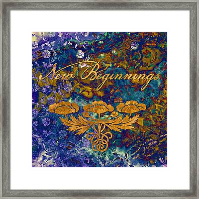 New Beginnings Framed Print by Susan Ragsdale