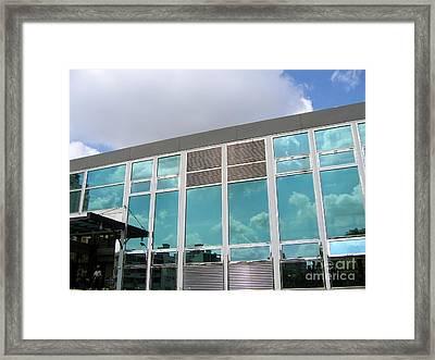 New Company Building Framed Print by Yali Shi