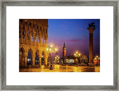New Day At St. Marks Framed Print by Andrew Soundarajan