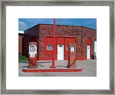 New Door To The Past Framed Print by Jerry Browning