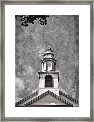 New England Church Steeple #2 Framed Print by Stuart Litoff