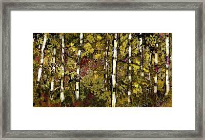 New Green Spring Framed Print by Ruth Bueneman