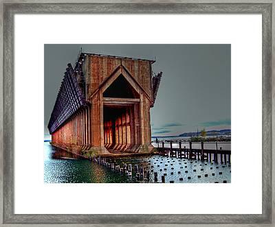 New Image - The Ore Is Gone Framed Print by MJ Olsen