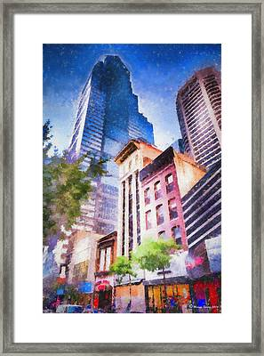 New Meets Old Framed Print by Marvin Spates