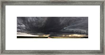 New Mexico Storm Framed Print by Francis Lavigne-Theriault
