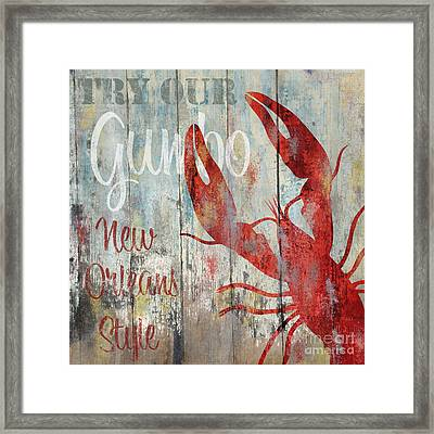 New Orleans Gumbo Framed Print by Mindy Sommers
