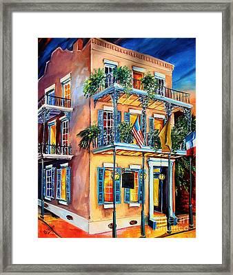 New Orleans' La Fitte's Guest House Framed Print by Diane Millsap