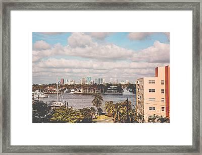 New River Fort Lauderdale Framed Print by Scott Pellegrin