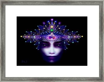 Celestial  Beauty Framed Print by Hartmut Jager