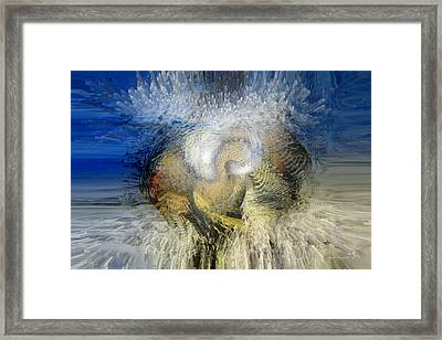 New Worlds Framed Print by Linda Sannuti