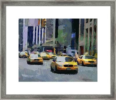 New York 01 Framed Print by Yury Malkov