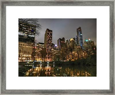 New York - Central Park 007 Framed Print by Lance Vaughn