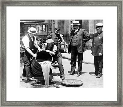 New York City Deputy Police Framed Print by Everett